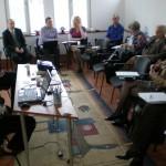 Reuniune de lucru, proiect EVA, 6 Aprilie 2012