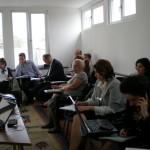 Intalnire de lucru proiect EVA, 2 mai 2011
