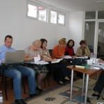 Reuniune de lucru, proiect EVA 7 Noiembrie 2011