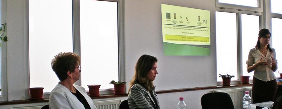 Seminar proiect EVA - 14 iulie 2011