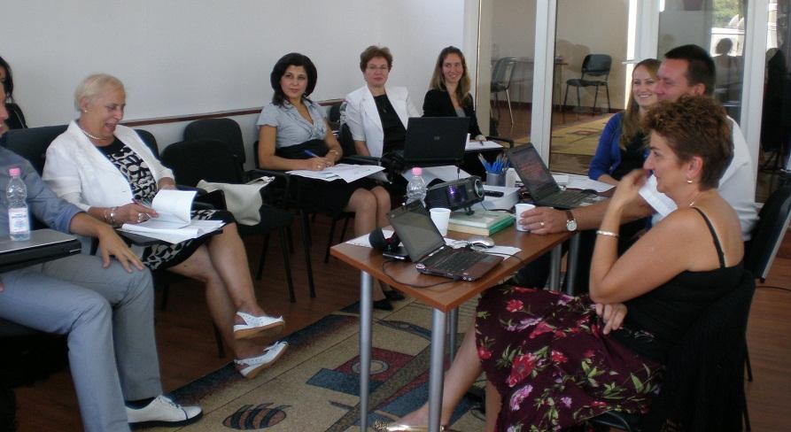 Reuniune de lucru, proiect EVA - 27 septembrie 2011